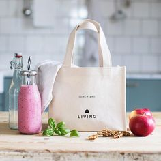 Pack your lunch is on our new Dermosil Lunchbag made of cotton Lunch, Photo And Video, Cotton, Bags, Instagram, Handbags, Eat Lunch, Lunches, Bag