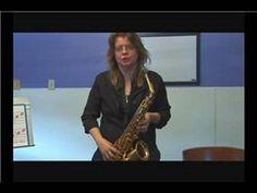 Beginning Saxophone Tips : Playing Low C on Saxophone - YouTube
