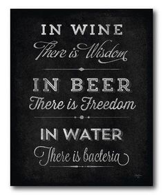 Look what I found on #zulily! 'In Wine There Is Wisdom' Wrapped Canvas by COURTSIDE MARKET #zulilyfinds