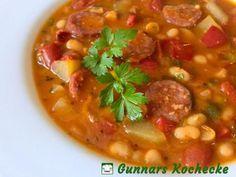 Serbische Bohnensuppe - #Rezept