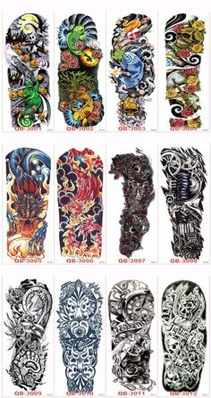 This monster offer includes a pack of 3 tattoo sleeves. Use your fashion sense to match these sleeves with your t-shirts. They are excellent accessories for par