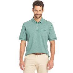 Big & Tall Arrow Marled Polo, Men's, Size: