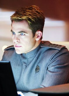 Chris Pine on Star Trek Into Darkness