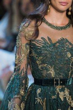 """analife:  """"Elie Saab // Haute Couture - Fall 2017  """""""