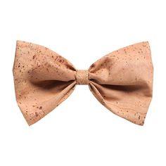 Kork Fliege «Natural» von Montado – Natürliche Krawatte – Faire Mode Tie, Personal Style, Natural Colors, Cravat Tie, Handmade, Ties