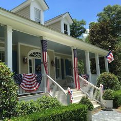 Wishing all of our followers, friends and families a happy and safe 4th of July! We love seeing porches throughout #HabershamSC decorated to celebrate the holiday. #Beaufort #SouthernLiving #southernlivinginspiredcommunity #4thofjuly #independenceday