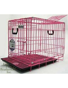 Pet Tek Dream Crate Professional Series 200 Dog With Mesh Floor 24 By 18 Pink Continue To The Product At Image Link