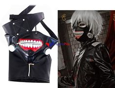 Masque Tokyo Ghoul PU (Noir)