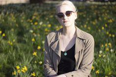 Urbanity Blog wearing Murray in Vanilla Tortoise