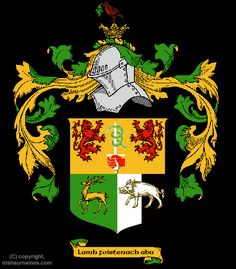 Sullivan Coat of Arms, Family Crest - Free Image to View - Sullivan Name Origin History and Meaning of Symbols