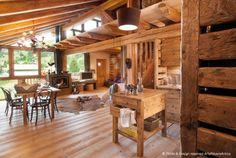 Arte Rovere Antico - Photo by Duilio Beltramone for Sgsm.it - Casa Millefiori - Pragelato - Italy - Wood Interior Design - Mountain House