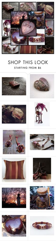 """Let it Be"" by andreadawn1 ❤ liked on Polyvore featuring WALL, Bertha, etsy, handmade and shopetsy"
