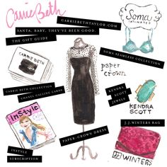 Gift guide! www.carriebethtaylor.com