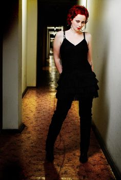 Photo of Anneke van Giersbergen for fans of Anneke van Giersbergen of The Gathering 24174111 Gothic Metal, Gothic Rock, The Gathering Band, Metal Girl, New Poster, Beautiful One, Red And White, The Incredibles, Rock Girls