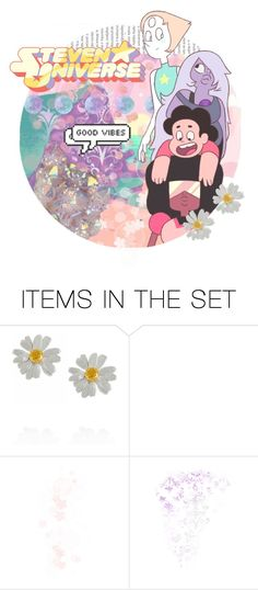 """""""Steven Universe"""" by sparklinganimetears ❤ liked on Polyvore featuring art"""
