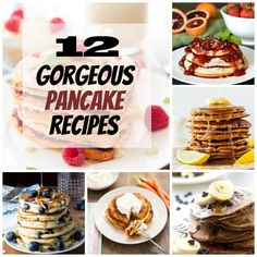 12 Gorgeous Pancake Recipes That Might Just Get You Out Of Bed