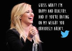 Demi Lovato   20 Celebrities Who Totally Owned Their Body Image Trolls
