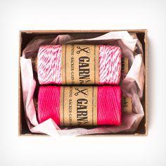 Bäcker-Garn-2er-Set Think Pink | Die SELLERIE