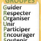 Un affiche pour aider les élèves à comprendre le sens du mot groupe et ce que cela implique....