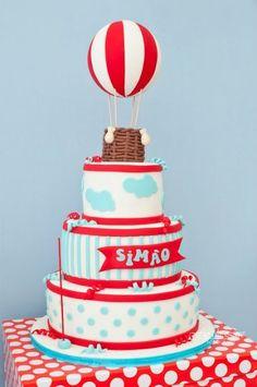 Hot Air Balloon themed birthday party   Hot Air Balloon Birthday Ideas