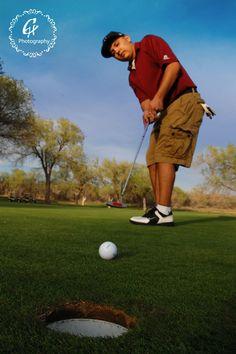 Senior: Golf: Crystal Hernandez Photography