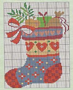 : Gráfico Pt Cruz - Botas de Natal