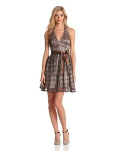 Adrianna Papell Women's Lace Sequin Halter Dress, Buff, 8 Adrianna Papell,http://www.amazon.com/dp/B00A4CHBY2/ref=cm_sw_r_pi_dp_Rt7nrb0952Y87K47