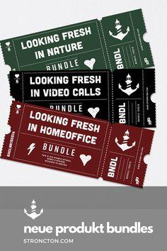 Wir haben für dich 3 neue Bundles erstellt, mit denen du perfekt für jede aktuelle Situation vorbereitet bist. Ob für Video Calls im Homeoffice oder wenn du mal eine Pause brauchst auch draußen in der Natur. Jedes Paket enthält 3 Allrounder für den neuen Alltag. Und wie das bei Bundles so ist, sparst du auch noch einen Batzen Geld dabei. Schau rein in unserem Online-Shop und lass dich inspirieren. 1€ pro Artikel geht an THE STRONCTON FOUNDATION. #bundle #homeoffice #kappe #tshirt #fairwear Pause, Inspiration, Shopping, Money, Products, Nature, Life, Biblical Inspiration, Inhalation