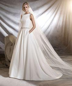 OLMEDO - Vestido de noiva estilo princesa de inspiração clássica