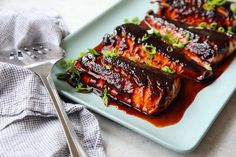 Black Cod Broiled With Miso Recipe . Black cod with miso was not invented by Nobu Matsuhisa, the chef at Nobu in TriBeCa, but he certainly popularized it His Fish Dishes, Seafood Dishes, Fish And Seafood, Seafood Recipes, Main Dishes, Cod Recipes, Cooking Recipes, Asian Recipes, Nytimes Recipes
