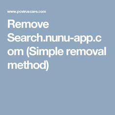 Remove Search.nunu-app.com (Simple removal method)