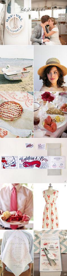 #Lobsterbake #Wedding Ideas! How adorable for an East Coast celebration?! #EventSpark