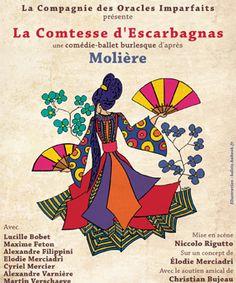 [Critique] «La Comtesse d'Escarbagnas», comédie-ballet de Molière au Funambule: la dernière ce samedi   Toutelaculture   [Critique] «La Comtesse d'Escarbagnas», comédie-ballet de Molière au Funambule: la dernière ce samedi