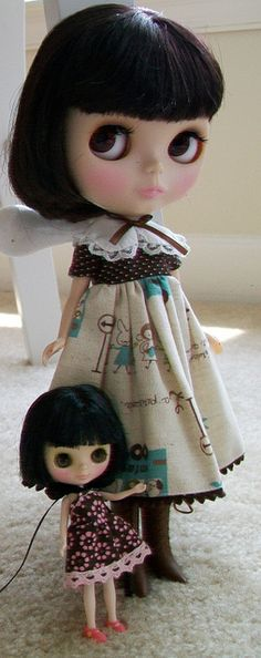 just because I love #blythe dolls . with her own blythe doll