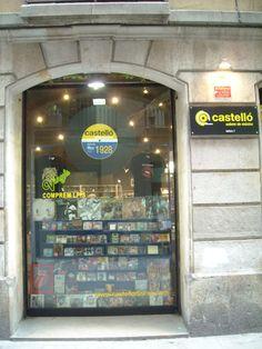 El Acorazado Cinéfilo - Le Cuirassé Cinéphile Discos Castelló Carrer dels Tallers, 7, 08001 Barcelona (Cataluña)