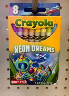 Crayola pick your pack- Neon dreams