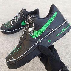 Behind The Scenes By sneakerflock Jordan Shoes Girls, Girls Shoes, Custom Sneakers, Custom Shoes, Sneakers Fashion, Fashion Shoes, Swag Shoes, Nike Shoes Air Force, Aesthetic Shoes