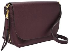 Looking for Fossil Maya Small Flap Crossbody Fig ? Check out our picks for the Fossil Maya Small Flap Crossbody Fig from the popular stores - all in one. Black Handbags, Purses And Handbags, Leather Handbags, Crossbody Clutch, Satchel, Kooba Handbags, Pebbled Leather, Fossil, Black And Brown