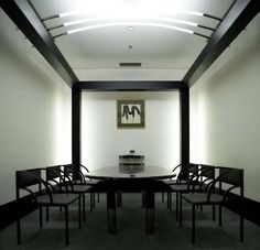 Shiro Kuramata (倉俣史朗)-Livina Yamagiwa ' Meeting room