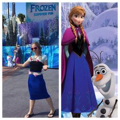 Disney bounding on a budget: Anna