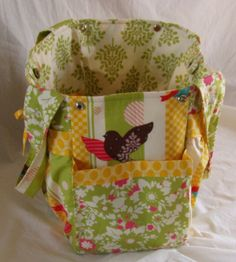 One of the most unique and beautifully constructed diaper bags.  Red Weaver also excels at designing handbags, passport pouches, cellphone covers and totes.  Her prices are unbelievable and custom work and her speciality.