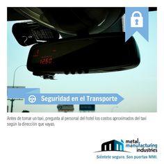 Estamos seguros que seguir el tip de #seguridad en el transporte de hoy te ahorrará disgustos con algunos taxistas.