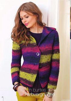9ff3aa6e1a05 dámský ručně pletený kabát z příze Souflé