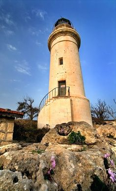 Old #lighthouse in Paphos, #Cyprus   by Signal-Womb   -   http://dennisharper.lnf.com/