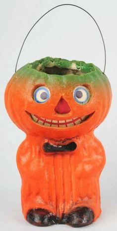 American Pulp Veggie Man Jack-O-Lantern.