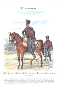 Vol 14 - Pl 27 - Preußen: Schlesisches National-Kavallerie-(Husaren-)Regiment. 1813-1815.