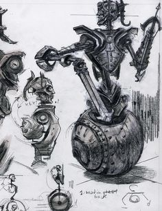 Probably the awesomest thing about this is that it actually looks like the Dwemer schematics from Morrowind