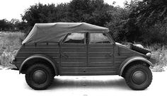 Profile view of a Volkswagen Type 82 Kübelwagen, date unknown