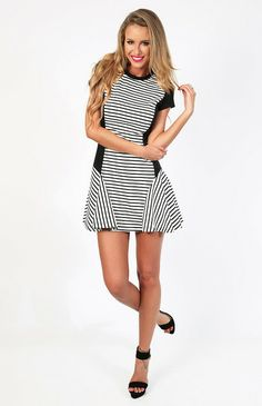 Au Revoir Dress $55 http://bb.com.au/collections/new/products/au-revoir-dress-white#