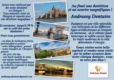 Seriez-vous intéressé par des soins dentaires en Hongrie ? Vous aimeriez venir en Hongrie et repartir avec une dentition magnifique ? Economisez  jusqu'à 70 % sur le coût des soins dentaires !